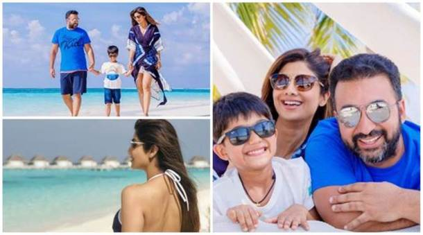 shilpa shetty family holiday