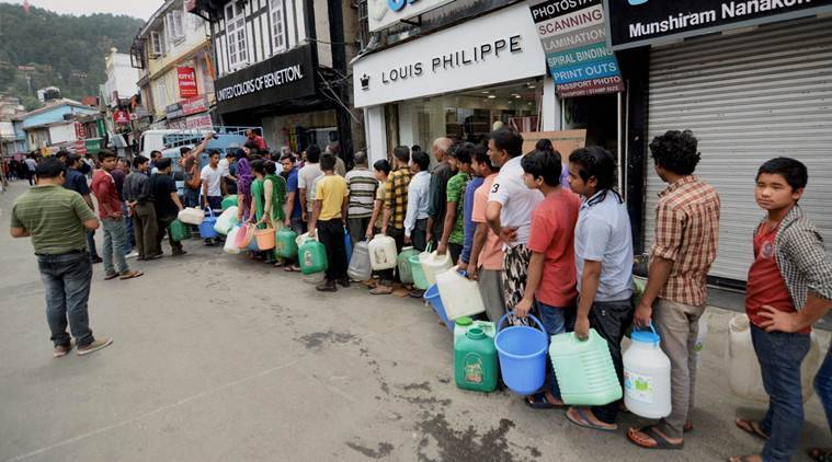 Shimla water crisis: Govt schools to remain closed for a week