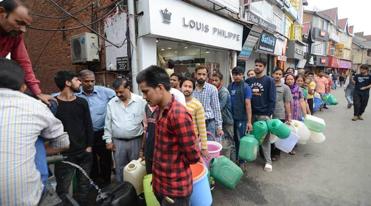 Midnight protests, dharnas, boycotts as Shimla's water woes turn grim