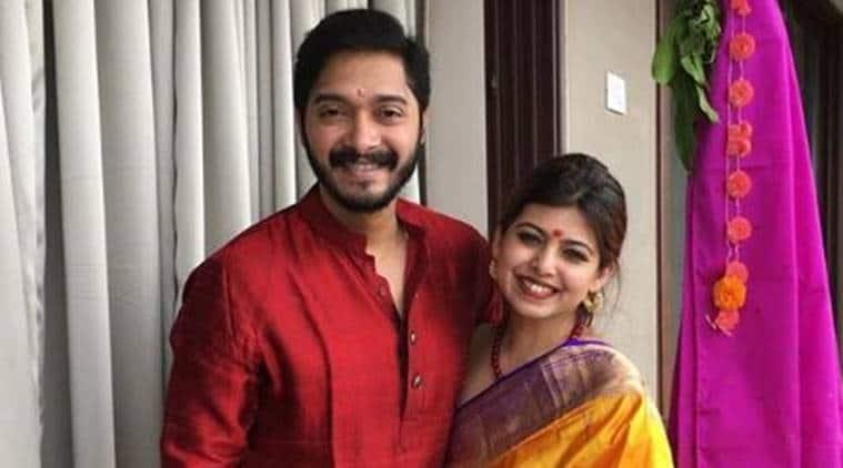 shreyas talpade and wife deepti