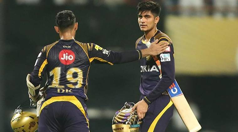 Karthik is grooming Gill in the KKR camp. (IANS)