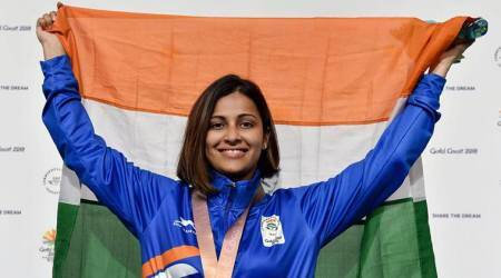 ISSF World Cup, ISSF World Cup news, ISSF World Cup updates, Heena Sidhu, Heena Sidhu India, India Heena Sidhu, sports news, Indian Express