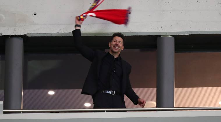Atletico Madrid: Simeone given touchline ban for Europa League final