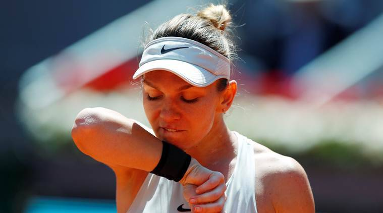 With her No. 1 ranking at risk, Simona Halep routs Naomi Osaka in Rome