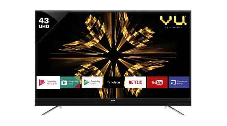 Vu Android 43-inch Ultra HD 4K LED Smart TV