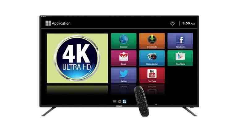 Mitashi 49-inch Ultra HD 4K LED Smart TV