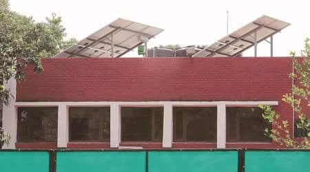 Solar power plants installed only  in 3.75% of residentialhouses