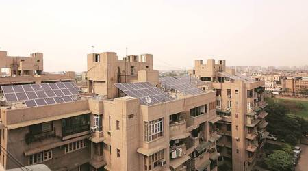 East Delhi complex first to get rooftop solar plant, will generate electricity at Rs 2.50 per unit