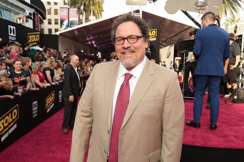 Jon Favreau in solo a star wars story premiere