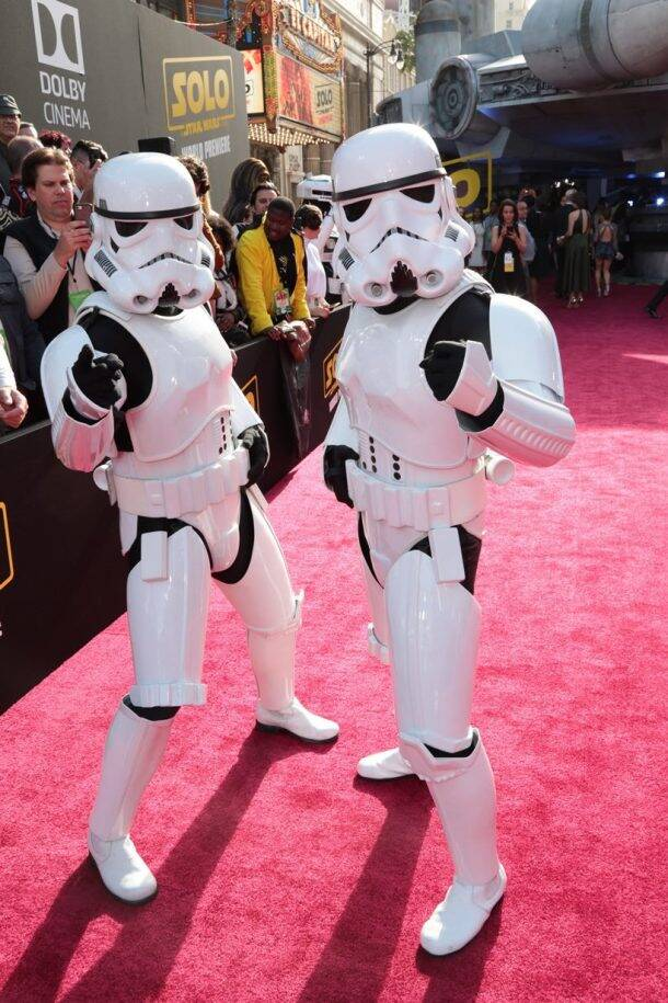 Stormtroopers in solo a star wars story