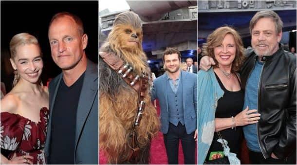 solo star wars premiere photos