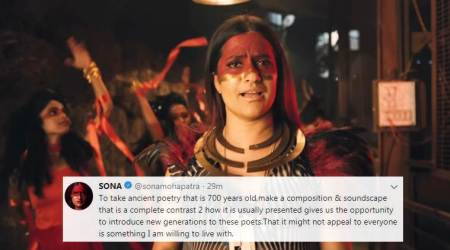 Sona Mohapatra on Tori Surat: The song introduces new generation to ancient poetry andpoets