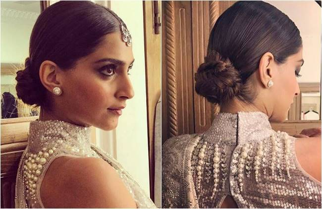 Bride To Be Sonam Kapoor S Stunning Hairdos From Twisted Knots To