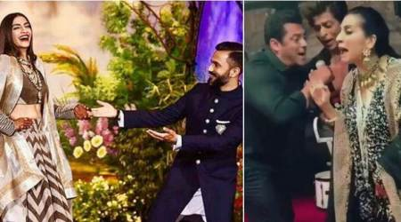 Sonam Kapoor-Anand Ahuja's wedding reception had Anil Kapoor, Salman and Shah Rukh dancing their hearts out