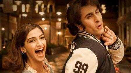 Sanju new poster: Sonam Kapoor's crackling chemistry with Ranbir Kapoor is a page out of Sanjay Dutt's life
