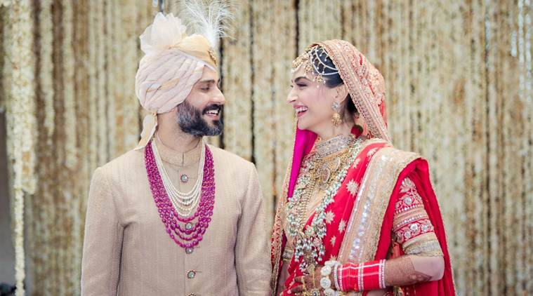 Image result for sonam kapoor marriage photos