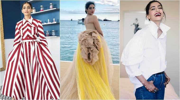 sonam kapoor day two cannes 2018