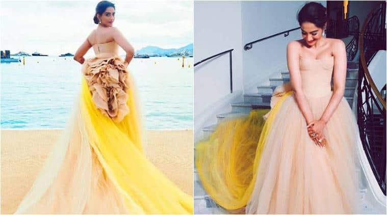 Bollywood fashion, celeb fashion, Sonam Kapoor, Sonam Kapoor Cannes, Jacqueline Fernandez, Jacqueline Fernandez fashion, indian express, indian express news