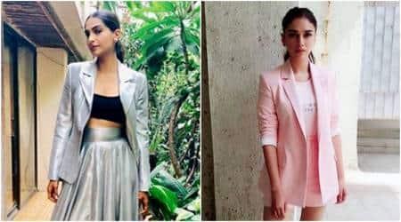 Bollywood Fashion Watch for May 18: Sonam Kapoor, Aditi Rao Hydari show different ways to wear a summerblazer