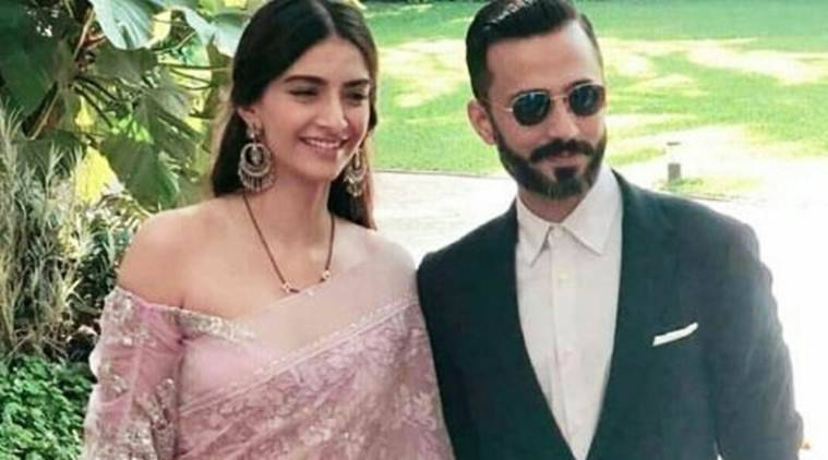 sonam kapoor anand ahuja images