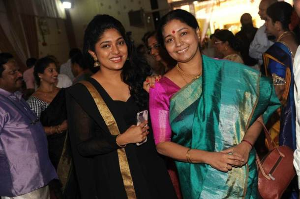 Kannada actors mark their presence at Meghana wedding