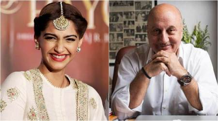 Bride-to-be Sonam Kapoor gets a congratulatory message from Anupam Kher for her wedding