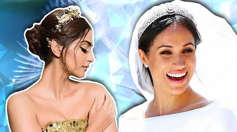 international tiara day, Kate Middleton, Meghan Markle, Royal wedding, sonam kapoor, queen rania, celeb fashion, bollywood fashion, indian express, indian express news