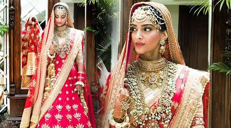 Image result for sonam kapoor and anand ahuja wedding