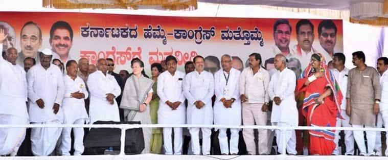 Sonia Gandhi: Modi govtdiscriminating against Congress-ruledKarnataka, is this 'sabka saath, sabka vikas'?