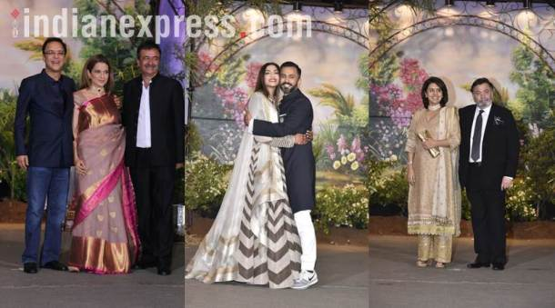 sonam kapoor and anand ahuja's reception