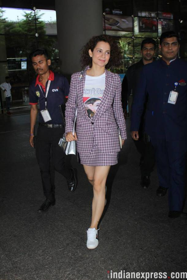 kangana ranaut back from cannes