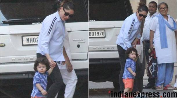 taimur ali khan posed