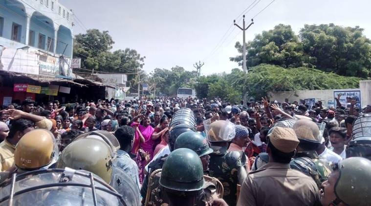 Sterlite Copper protest