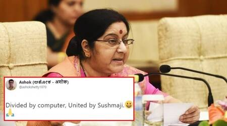 Twitterati find Sushma Swaraj's response to elderly man's request for help 'funny and sincere'