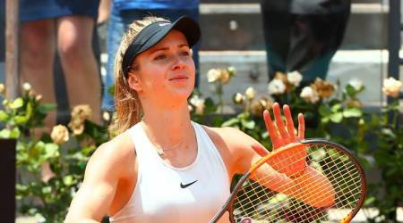 Simona Halep sets up Italian Open final against Elina Svitolina after beating Marin Sharapova