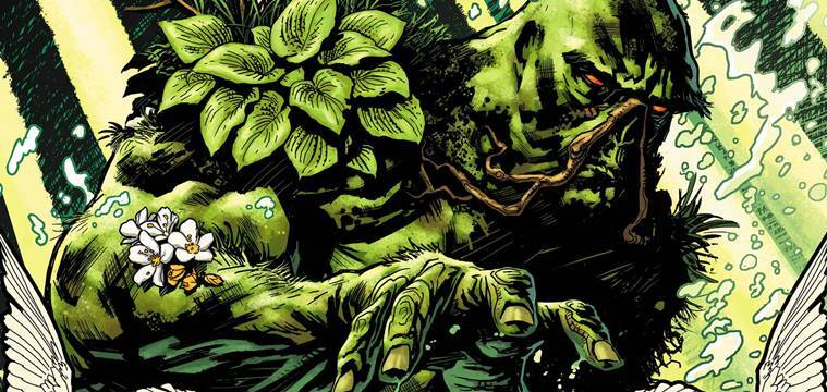 Swamp Thing in DC Comics.