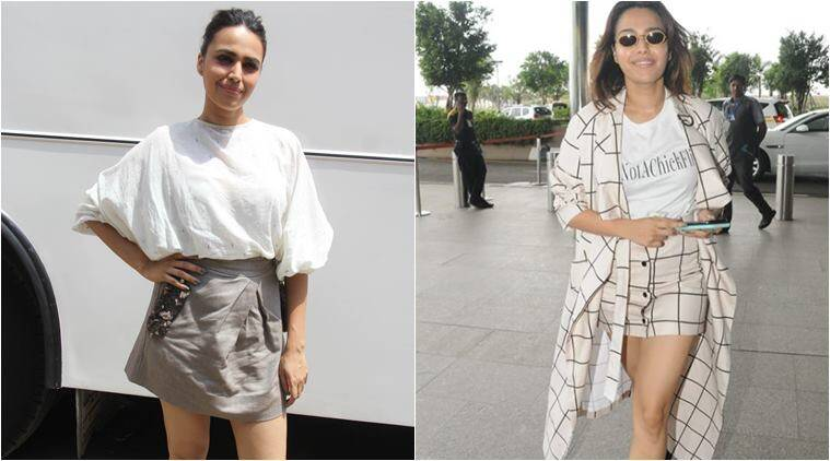 veera di wedding, swara bhaskar, veera di wedding promotions, swara bhasker style file, swara bhasker fashion looks, fashion news, indian express