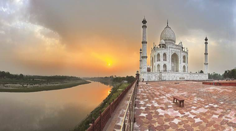 Earlier this month, the Supreme Court reprimanded the Archeological Survey of India (ASI) for failing to protect the Taj Mahal and suggested that experts be brought in from abroad to take over restoration efforts. (Express photo/Abhinav Saha)