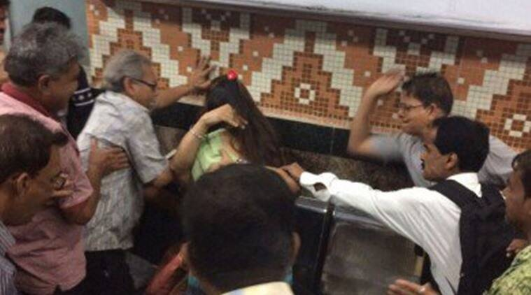 Couple beaten up in name of moral policing in Kolkata Metro;authorities claim nothing found in CCTV footage