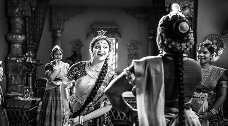Keerthy Suresh as Savitri in Mahanati.
