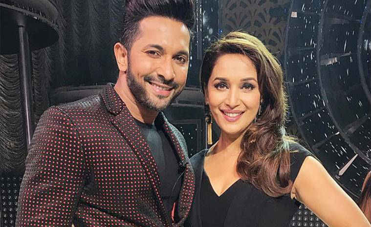 Terence Lewis with Madhuri Dixit