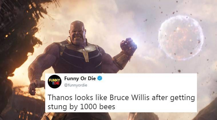 Avengers Infinity War Fans Are Comparing Thanos Face
