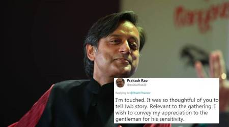 When Shashi Tharoor narrated the tale of Jallianwala Bagh, an Englishman came to him; here's what happened next