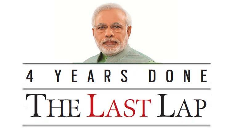 pm modi, modi govt, modi govt four year anniversary, bjp, nda, central govt, nda initiatives, beti bachao beti padhao, swachh bharat, indian express