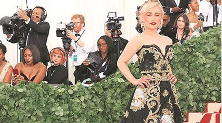 met gala 2018, fashion show, game of thrones, priyanka chopra, hollywood actors, hollywood movies, indian express, talk page