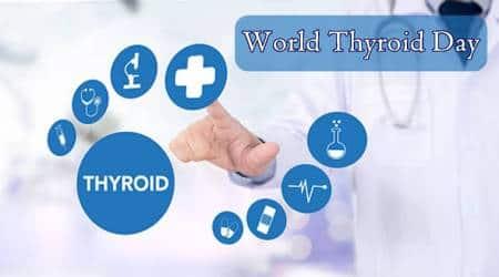 World Thyroid Day 2018, Thyroid causes, thyroid symptom, causes of thyroid, what causes thyroid, how to cure thyroid, indian express, indian express news