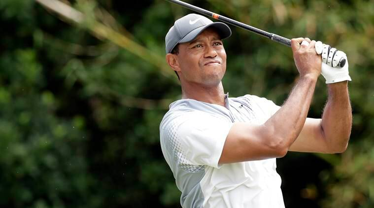Tiger Woods, Jordan Spieth, Webb Simpson, players championship, sports news, golf, Indian Express