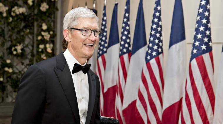 Apple Tim Cook Donald Trump China White House trade with China tim cook met donald trump trump meets tim cook us china trade relations