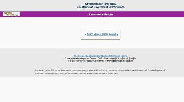 Tamil Nadu +2 results 2018 declared: Websites to check results