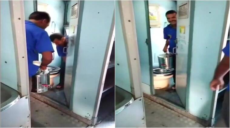 Railways vending contractor, vending contractor fined, toilet water in tea, Train toilet water, Secunderabad railway station, Chennai Central-Hyderabad Charminar Express, Indian Railways, India news, Indian Express news